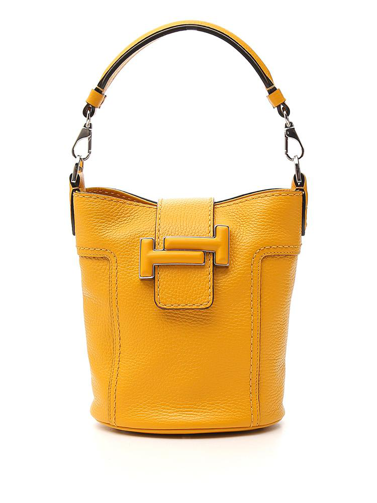 23d546461c Tod's Double T Tote Bag In Yellow | ModeSens
