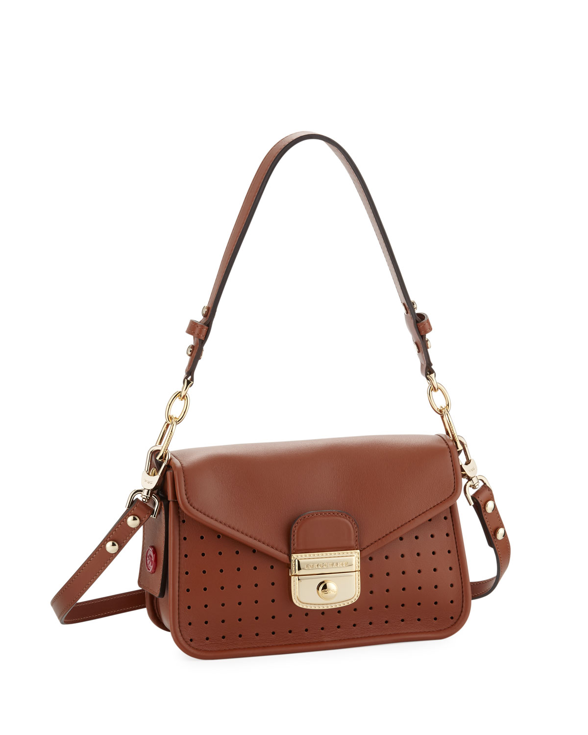 da8df51cc465 Longchamp Mademoiselle Small Crossbody In Natural In Ivory | ModeSens