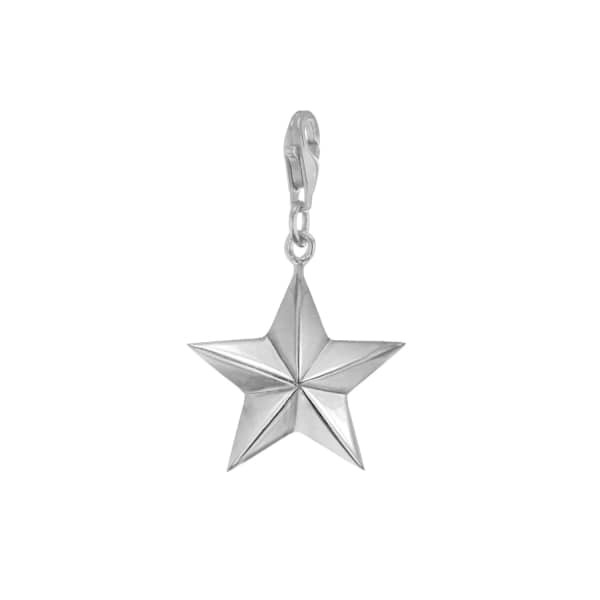 True Rocks Sterling Silver Star Charm