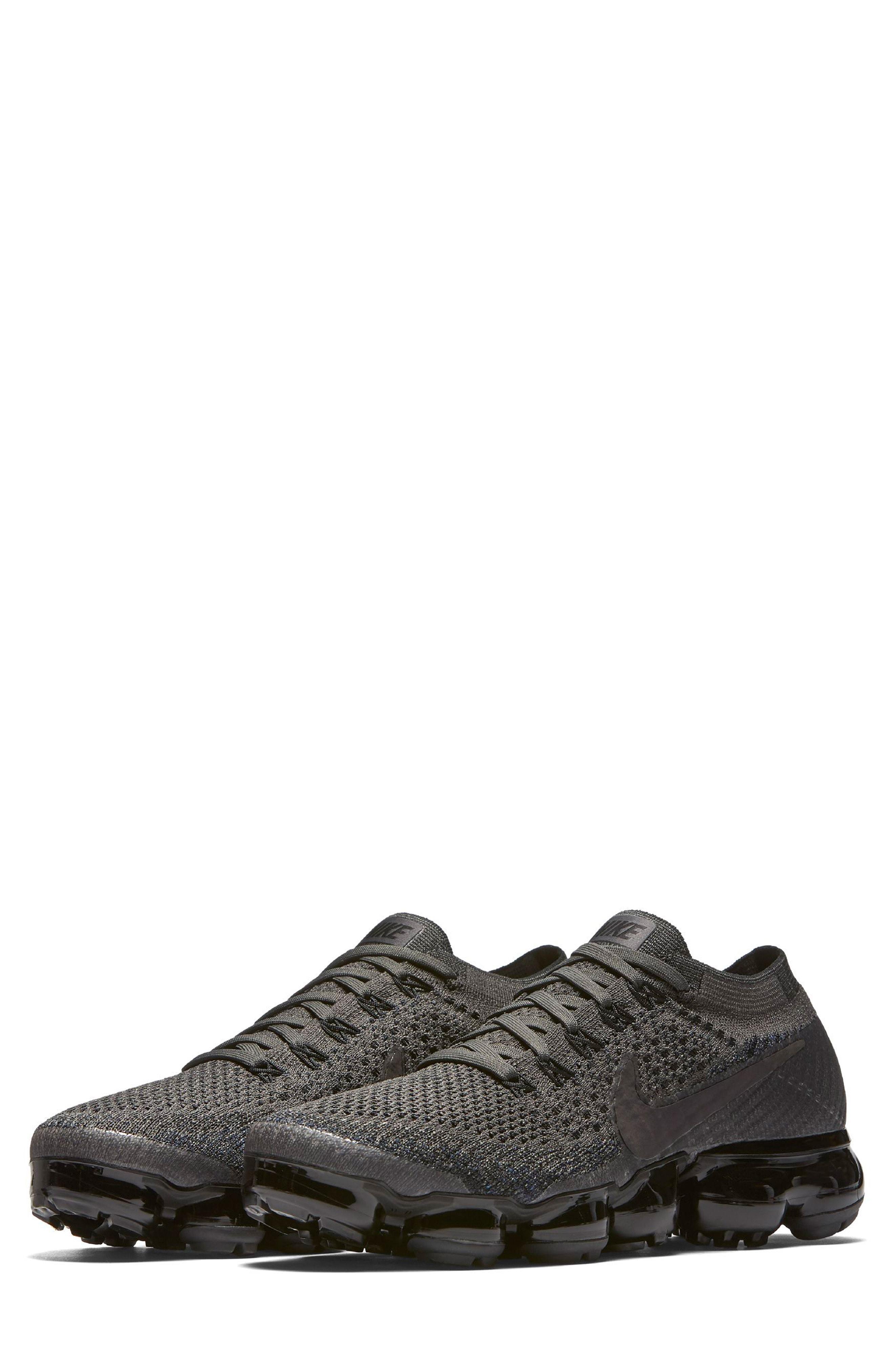 acb6ff15be Nike Air Vapormax Flyknit Running Shoe In Midnight Fog/ Black | ModeSens