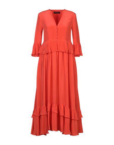 Rossella Jardini Long Dress In Orange