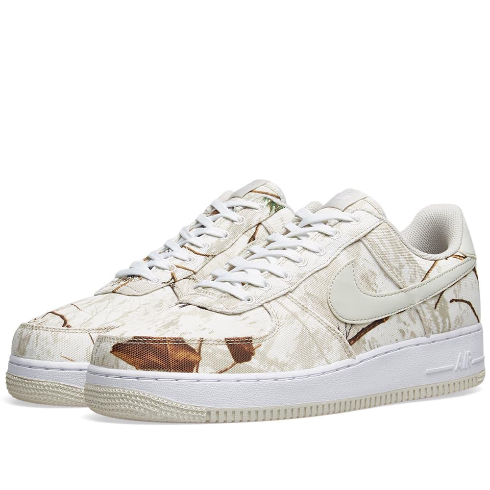 88e010dc6894f Nike Air Force 1 '07 Lv8 3 'Realtree Camo' In White | ModeSens
