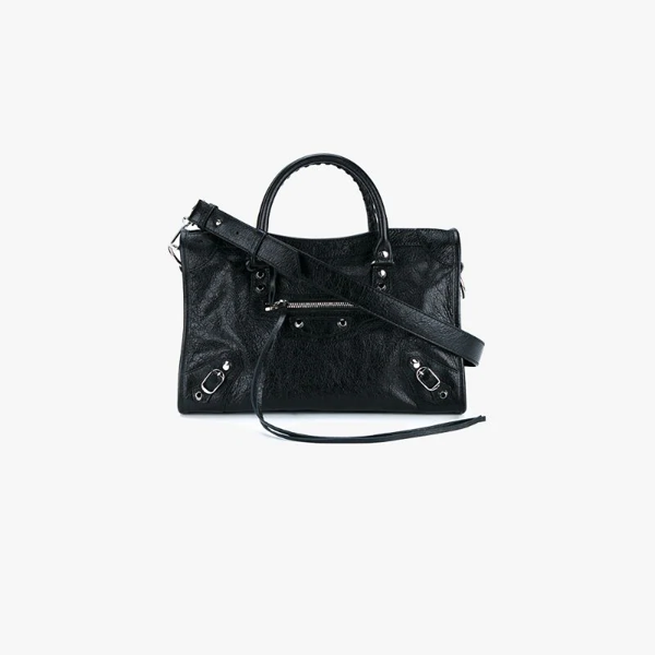 Balenciaga Black Classic City Leather Tote Bag