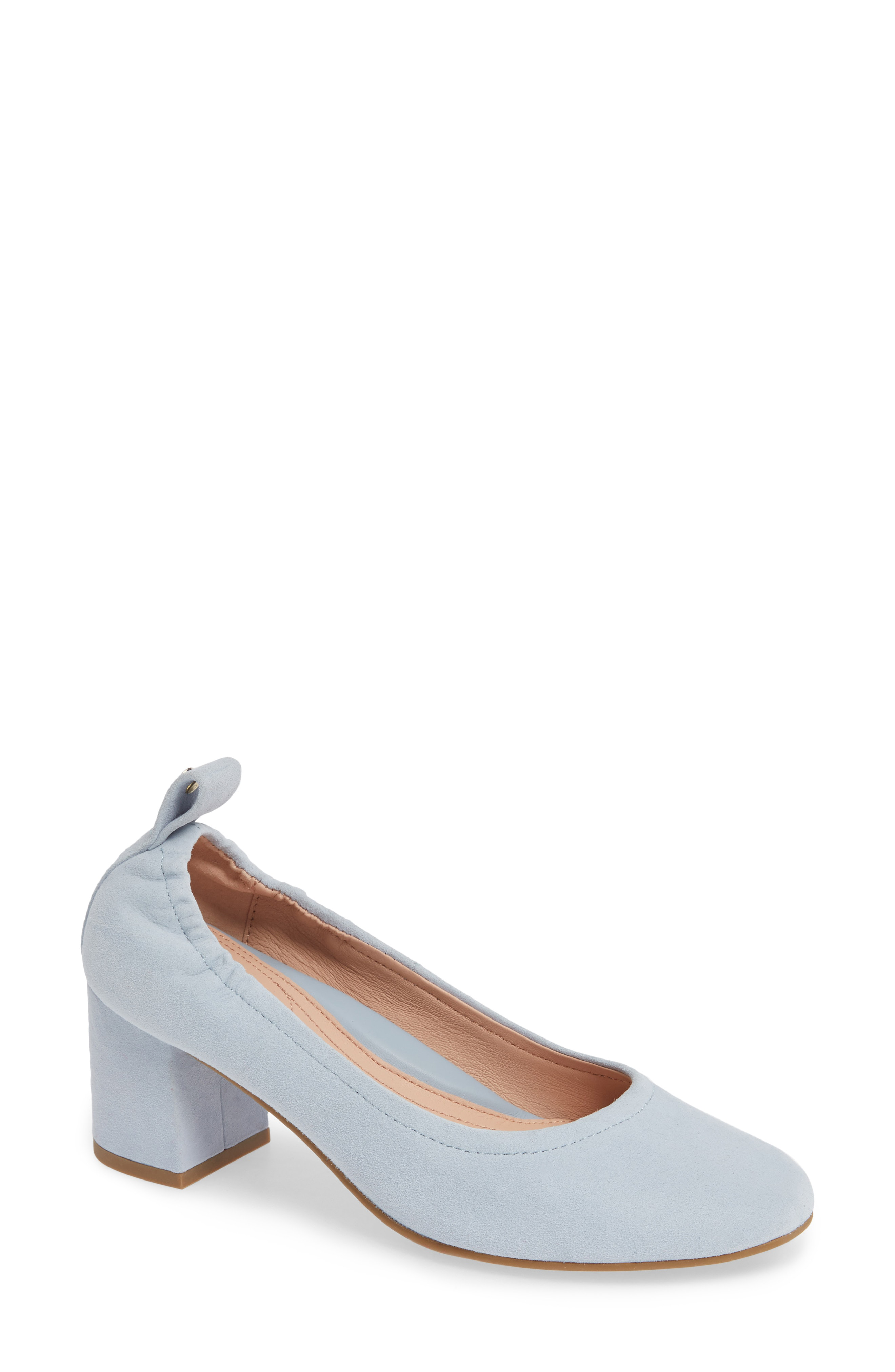 9b509b4babe3b A well-cushioned footbed adds walkable comfort to this streamlined and  versatile block-heel pump. Style Name  Taryn Rose Savannah Pump (Women).