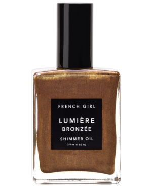 French Girl Lumiere Bronzee Shimmer Oil, 2-oz. In Copper