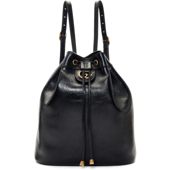 a6caeb4d8f9 Gucci Black Rebelle Bag In 1000 Black