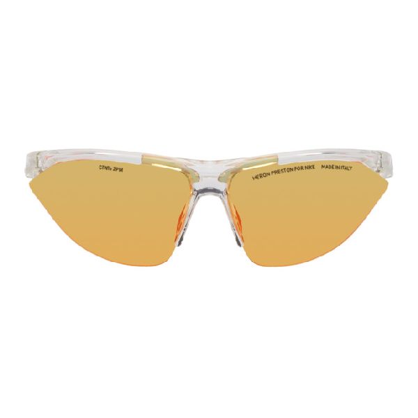 527942e583 Heron Preston + Nike Tailwind Polycarbonate Sunglasses With Interchangeable  Lenses - Clear - One Siz In