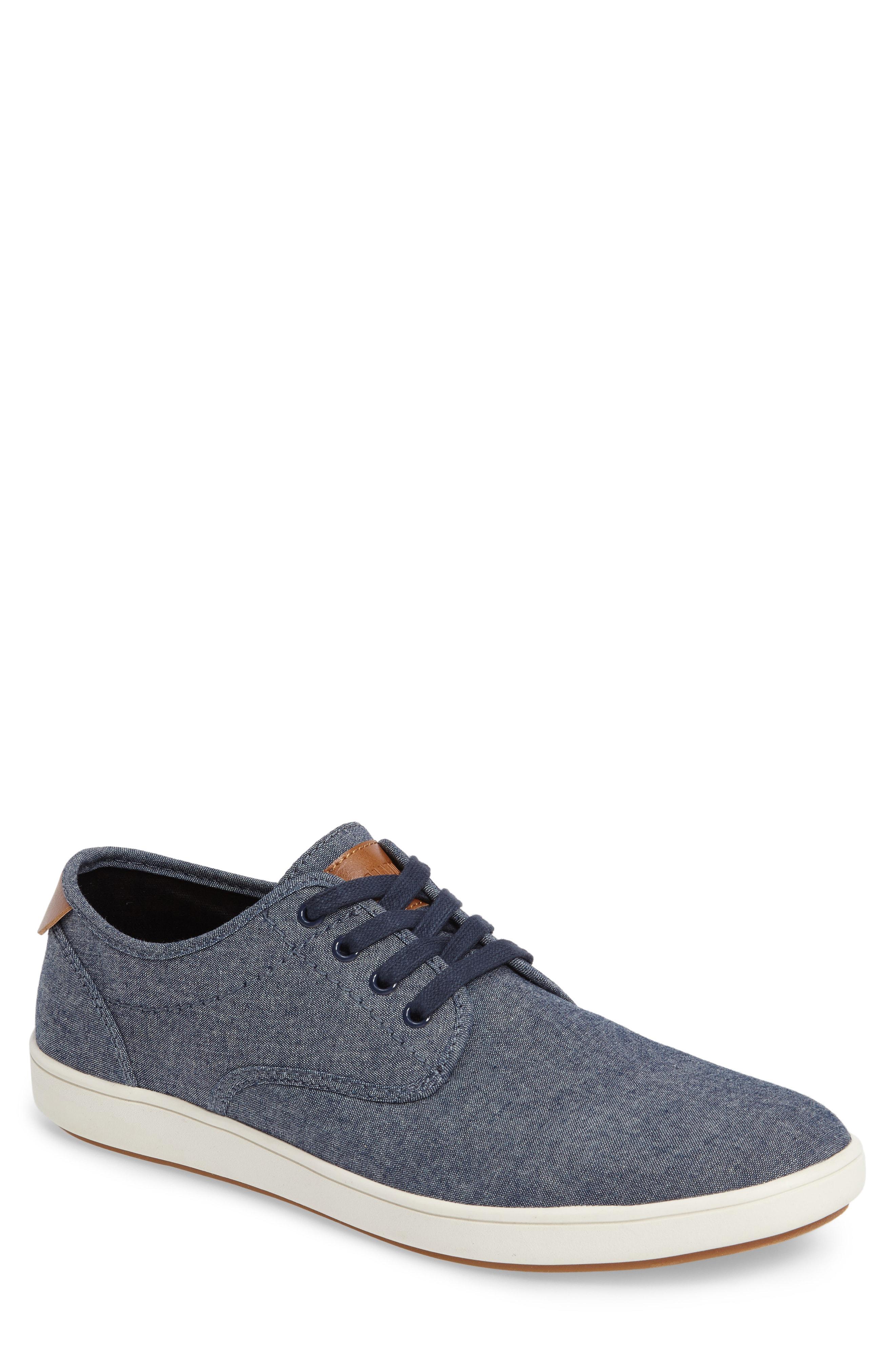 f0425fba62f Fenta Sneaker in Blue Fabric