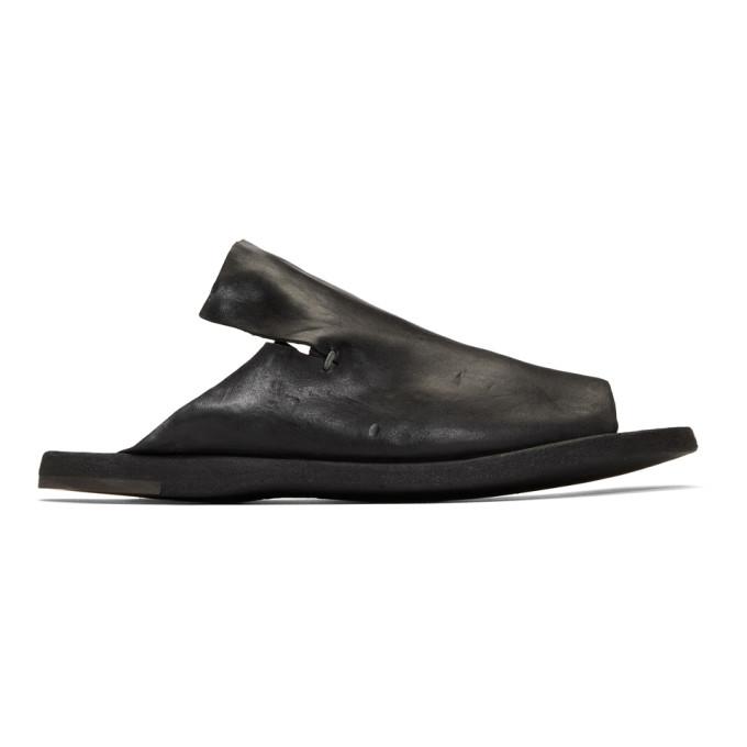 Officine Creative Black Kimolos 1 Sandals In Nero