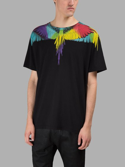 Marcelo Burlon County Of Milan Marcelo Burlon T-shirt In Black
