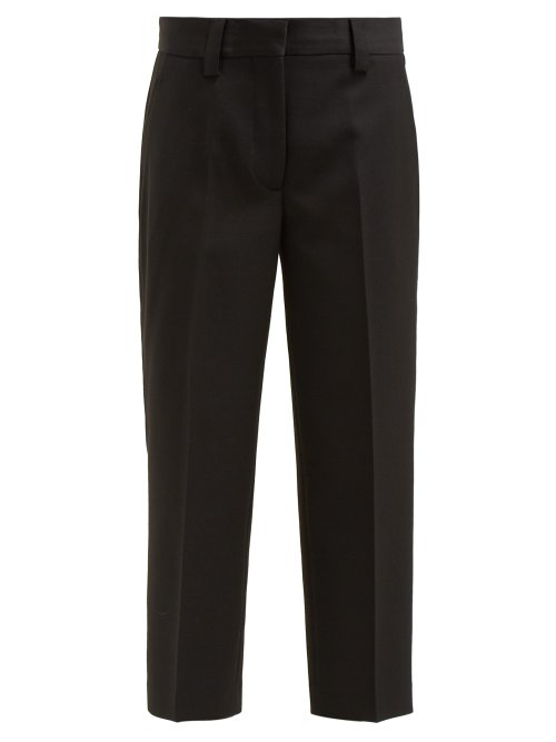 Acne Studios Relaxed-Leg Trousers In Black