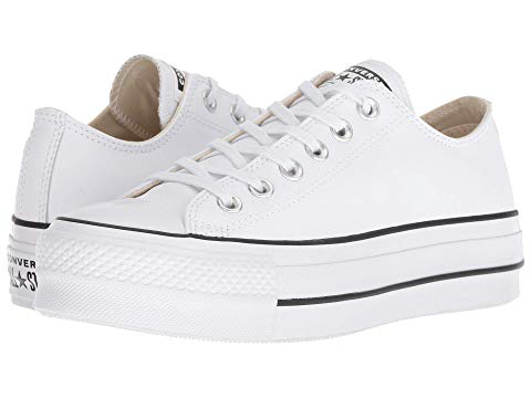 Chuck Taylor All Star Lift Clean - Ox, White/black/white