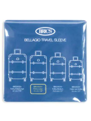 "Bric's Men's Bellagio 30"" Transparent Luggage Cover In Clear"
