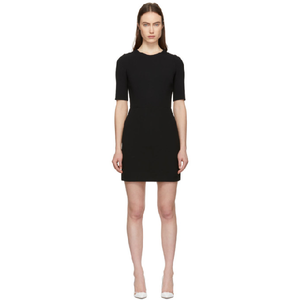 Dolce & Gabbana Dolce And Gabbana Black Fitted Dress In N0000 Black