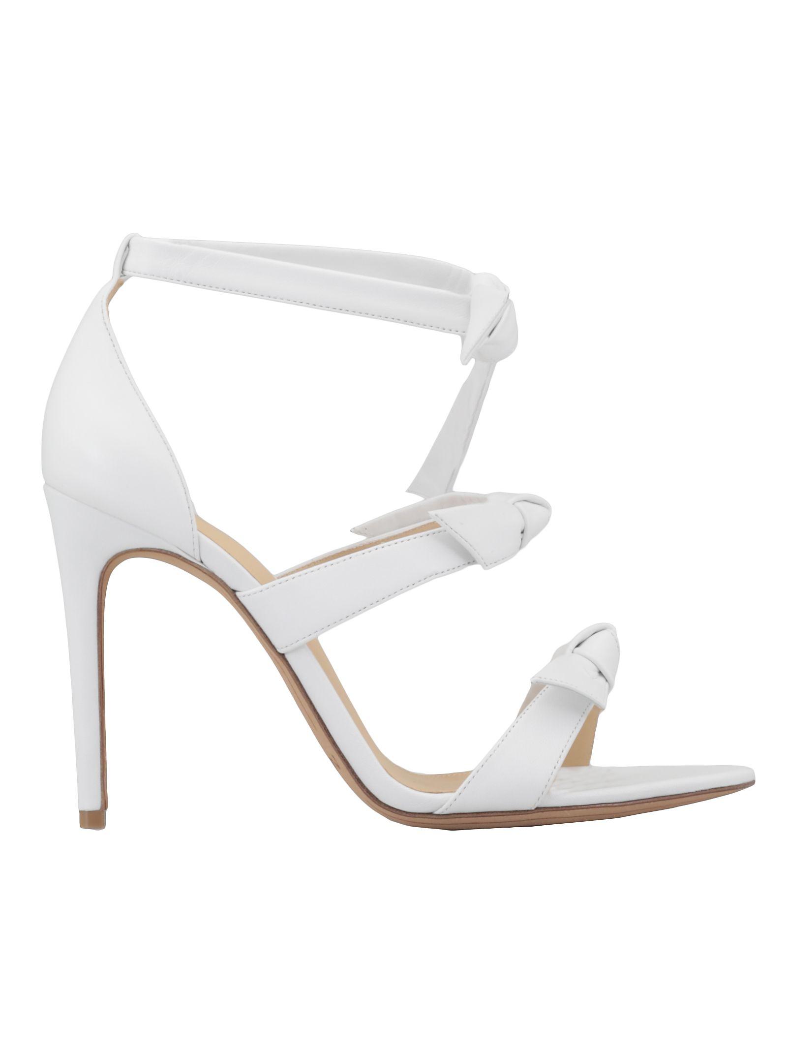 Alexandre Birman Gianna Sandal In White