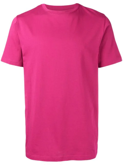 Natural Selection Round Neck T-shirt In Pink
