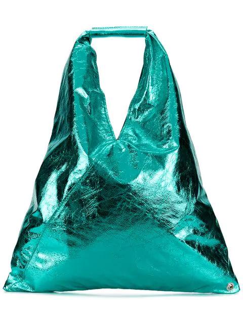 Mm6 Maison Margiela Japanese Tote Bag In Blue
