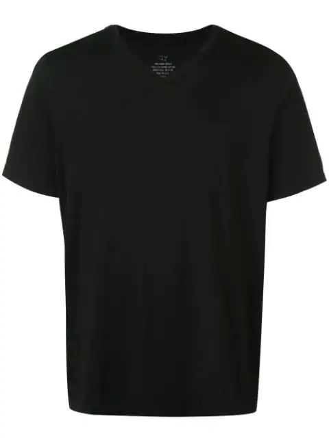 Save Khaki United Relaxed V-neck T-shirt In Black