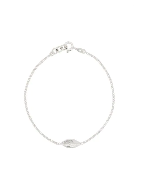 Wouters & Hendrix My Favourites Lips Bracelet In Silver