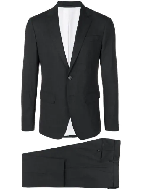 Dsquared2 Two-Piece Formal Suit In Grey