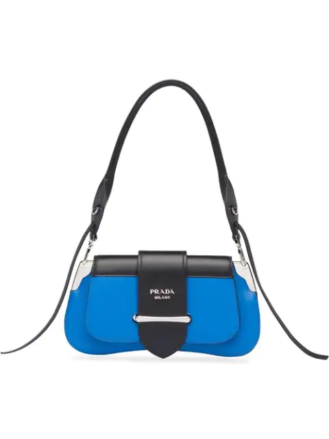Prada Sidonie Shoulder Bag - Blue