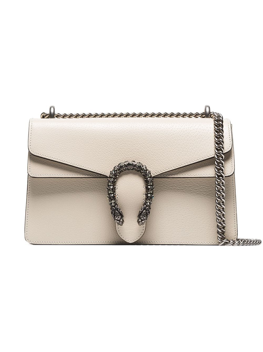 5bc9df1a179c5 Gucci White Dionysus Small Leather Shoulder Bag