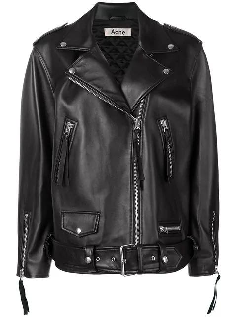 Acne Studios New Myrtle Oversized Jacket In Black