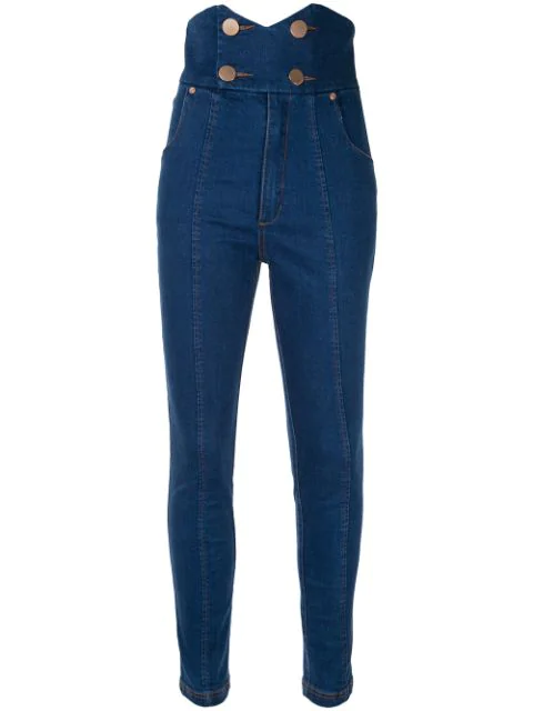 Alice Mccall Shut The Front J'adore Jeans In Black