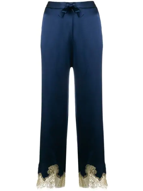 Gilda & Pearl Gina Pyjama Bottom In Blue