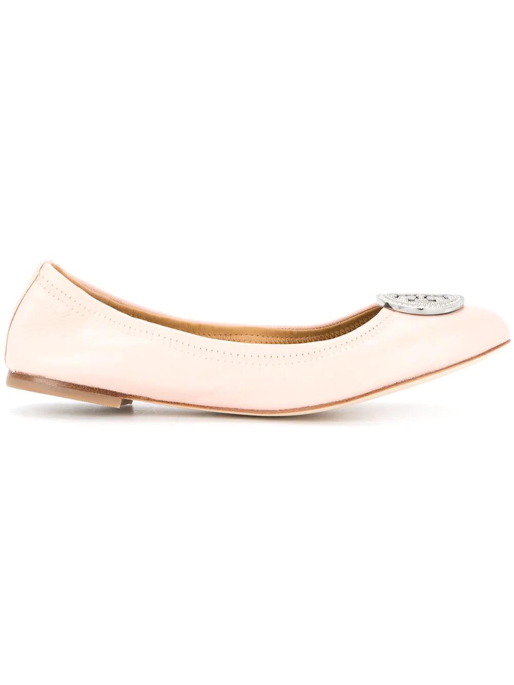 9f6bbc19fc69 Tory Burch Liana Ballerinas - Pink. Farfetch