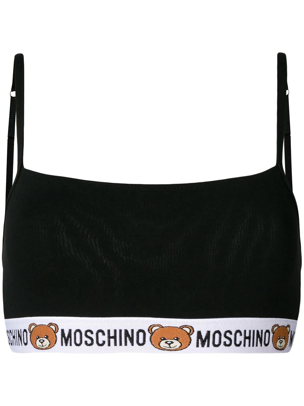 3f308cb51746d Moschino Teddy Bear Bra - Black
