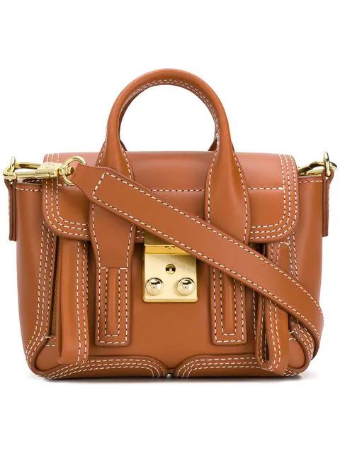 3.1 Phillip Lim Mini Pashli Bag In Co211 Cognac