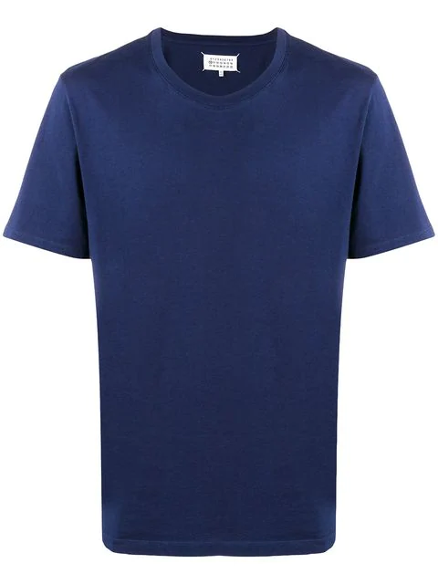 Maison Margiela Classic Short-sleeve T-shirt In Blue