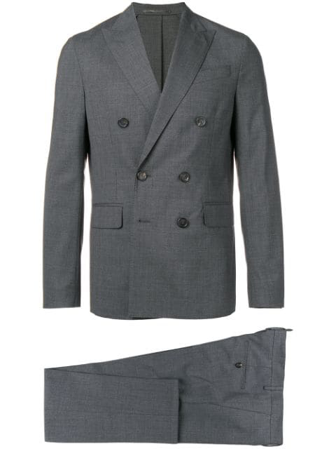 Dsquared2 Double Breasted Two-Piece Suit - Grey