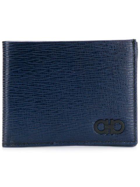 Salvatore Ferragamo Gancio Wallet In 704883 Navy
