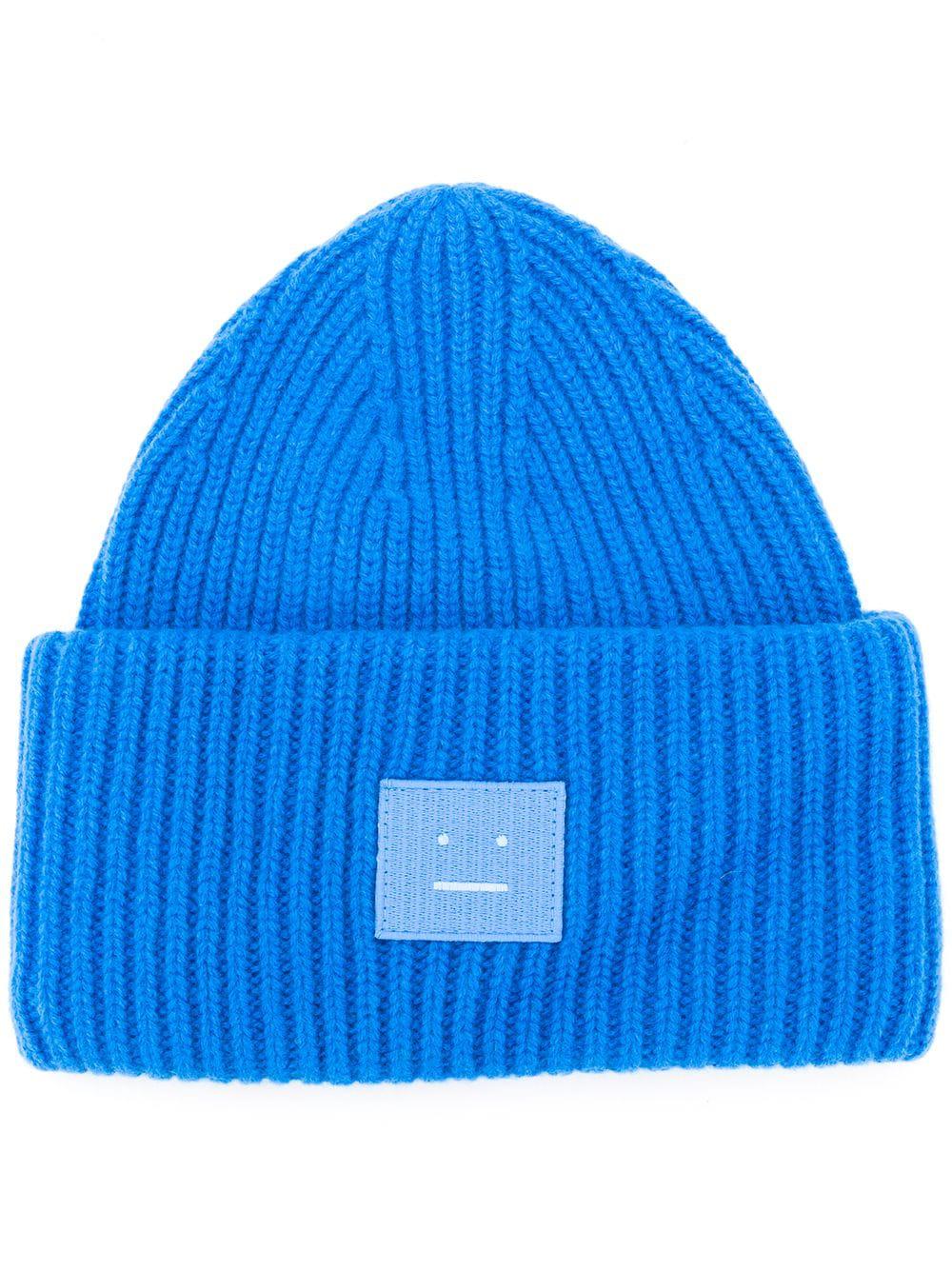 7d7ae425408 Acne Studios Beanie Im Oversized-Look - Blau In Blue