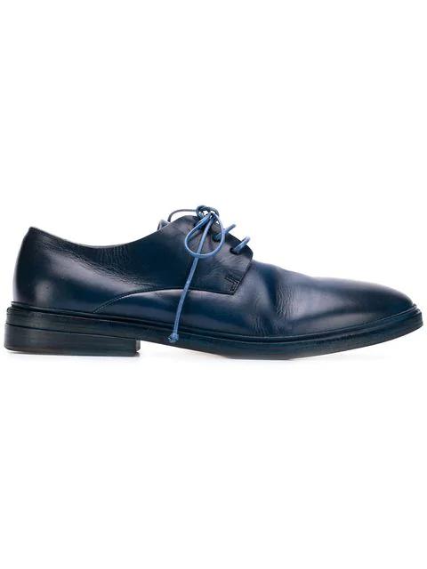 Marsèll Classic Derby Shoes In Vitvetrodenim