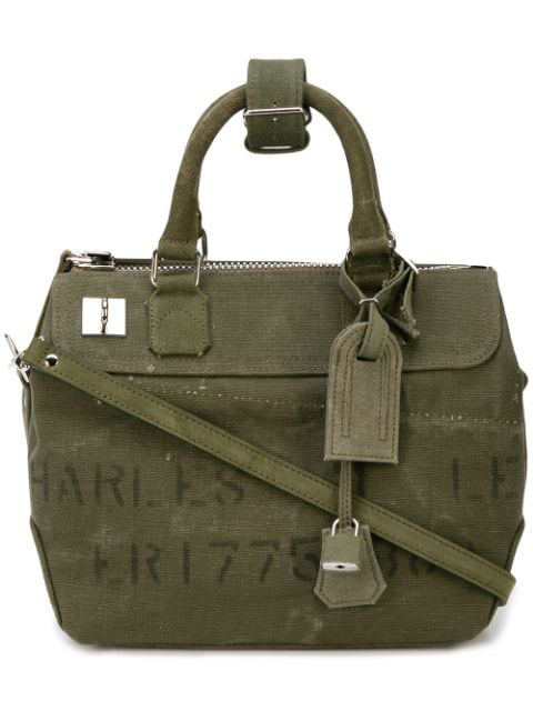 Readymade Military Style Holdall In Green