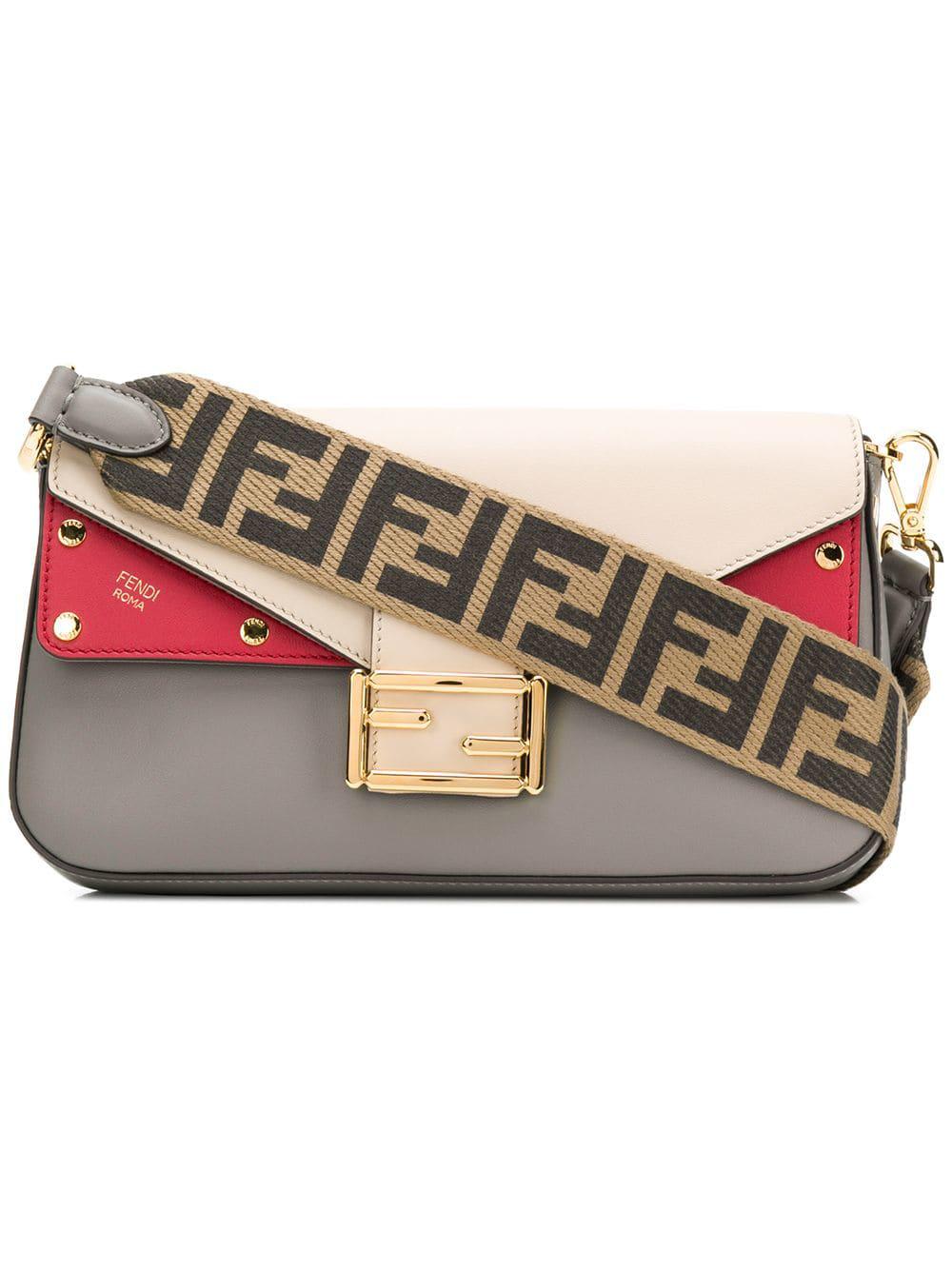 2748ba12ac Fendi Baguette Shoulder Bag - Neutrals