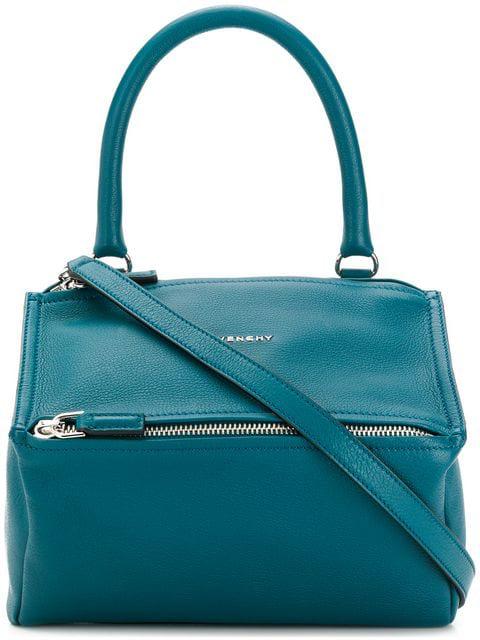 Givenchy Small Pandora Shoulder Bag In 426 Ocean Blue