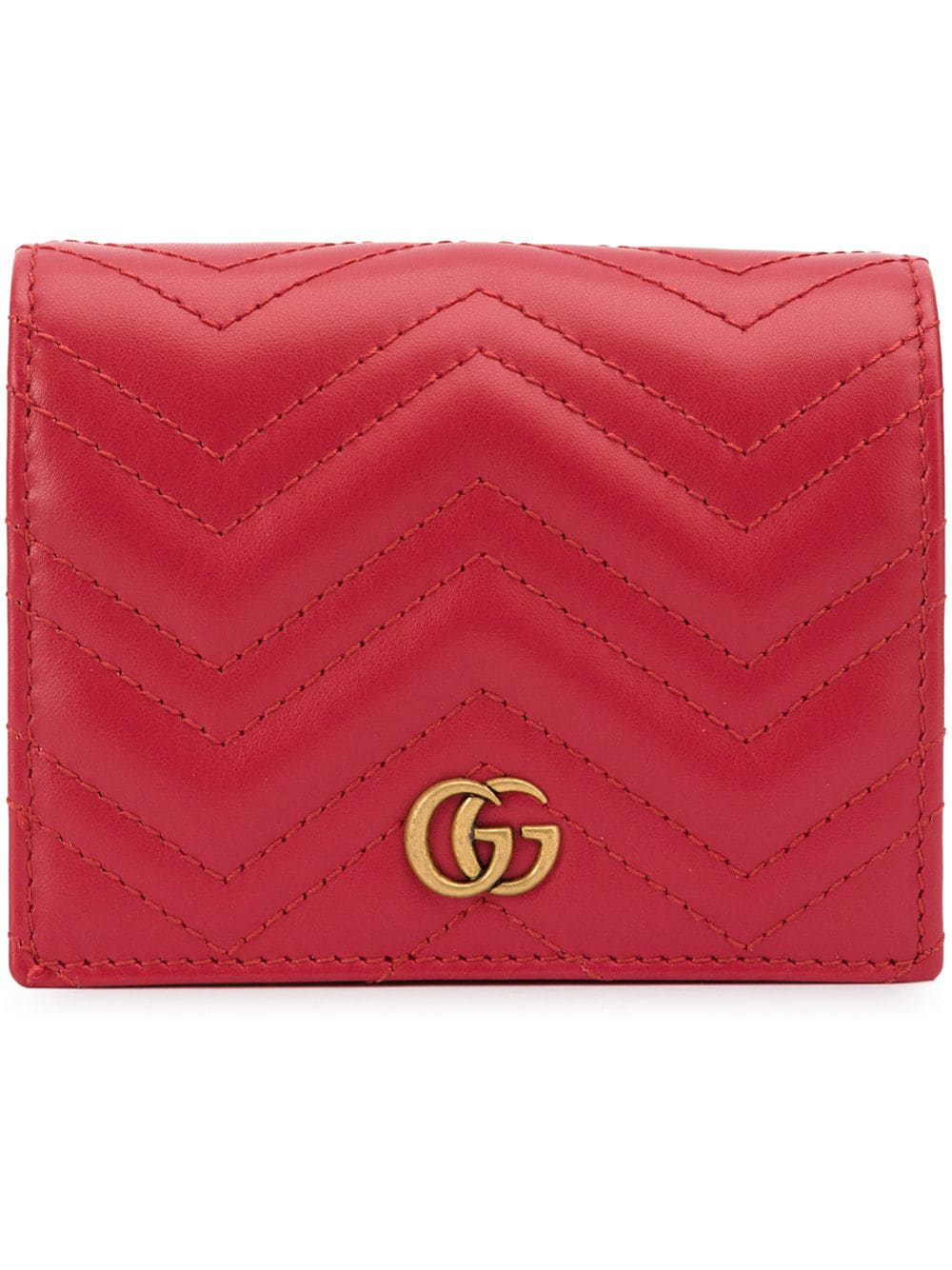 38792026449 Gucci Gg Marmont Purse - Red