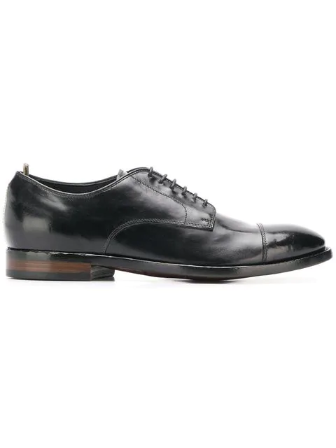 Officine Creative Emory Derby Shoes In Nero