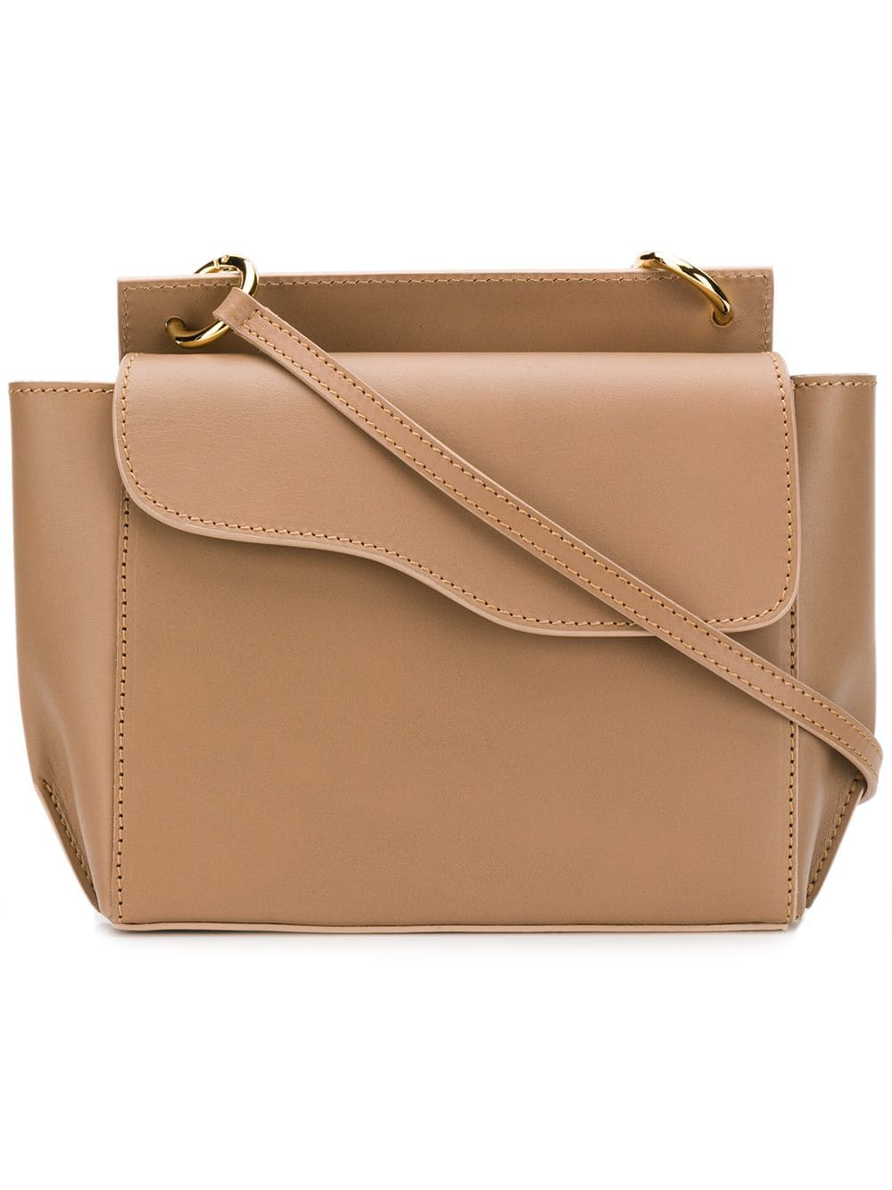 Atp Atelier Aulla Cross-Body Bag - Neutrals