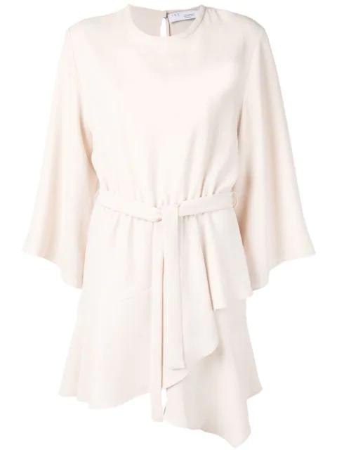 Iro Layer Mini Dress In Neutrals