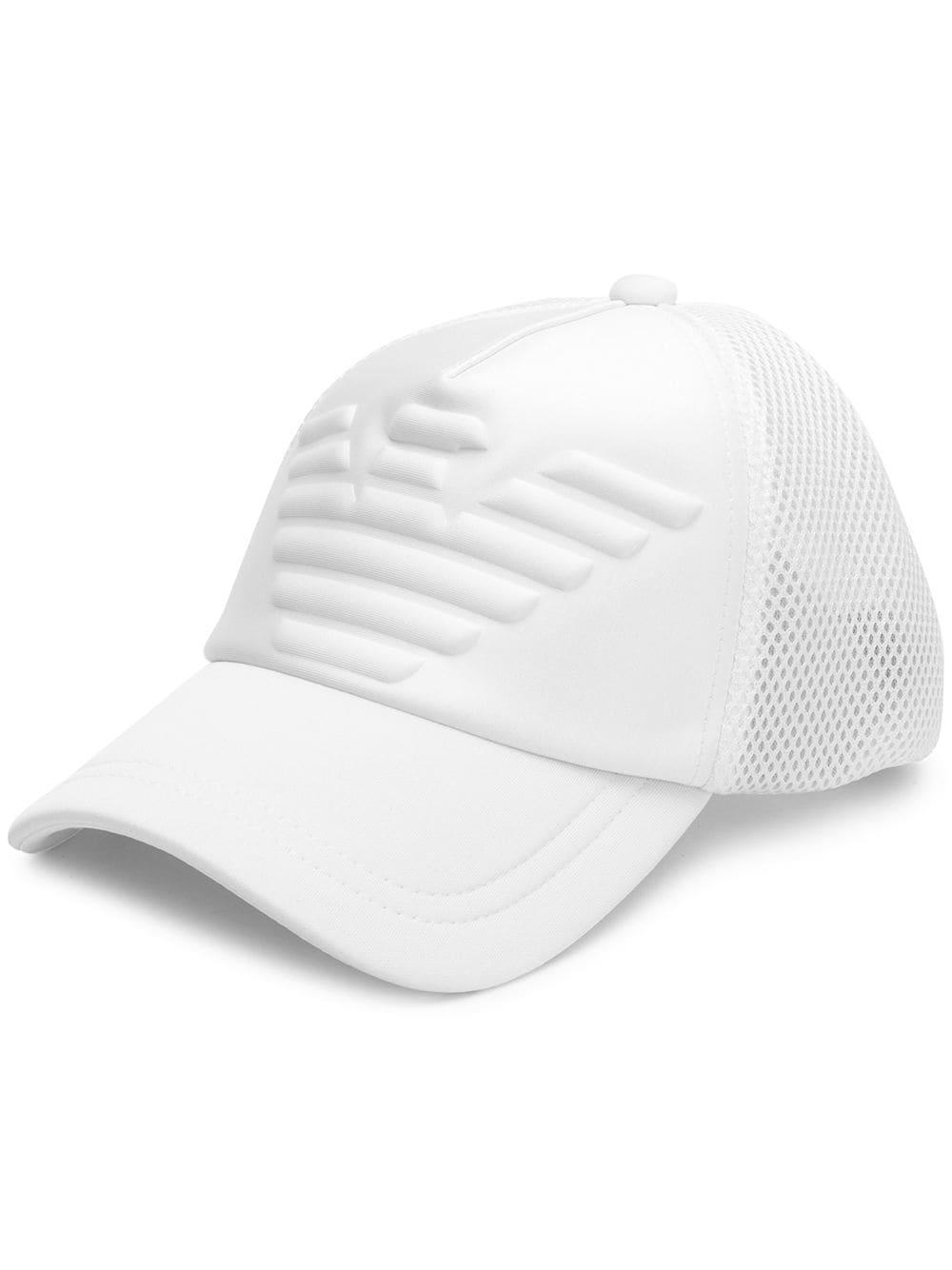 1e7bf11b2c843 Emporio Armani Logo Hat - White
