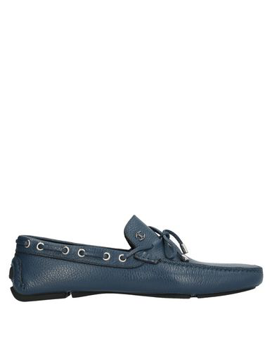 Just Cavalli Classic Loafers In Blue