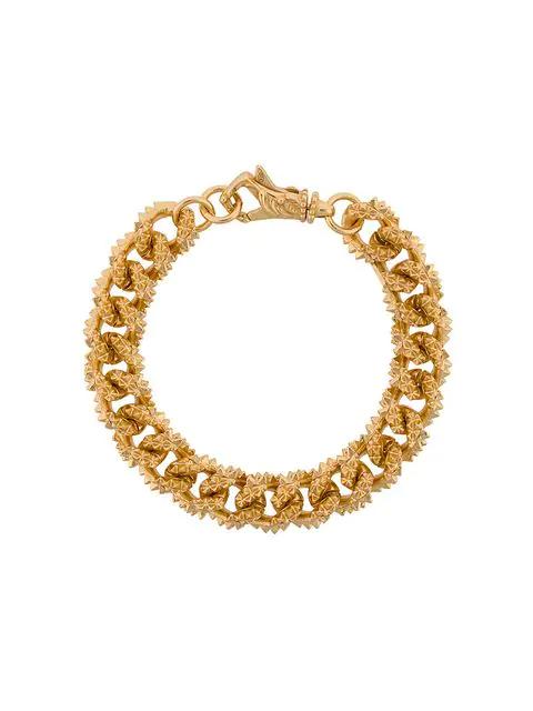Emanuele Bicocchi Chain-link Bracelet In Gold