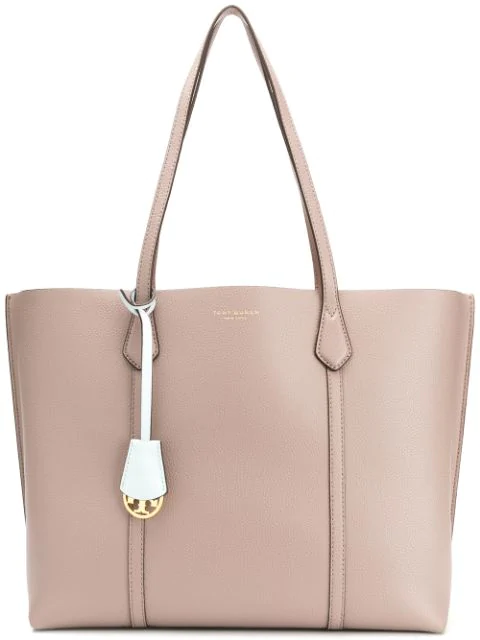 Tory Burch Perry Triple-compartment Tote Bag In Grey