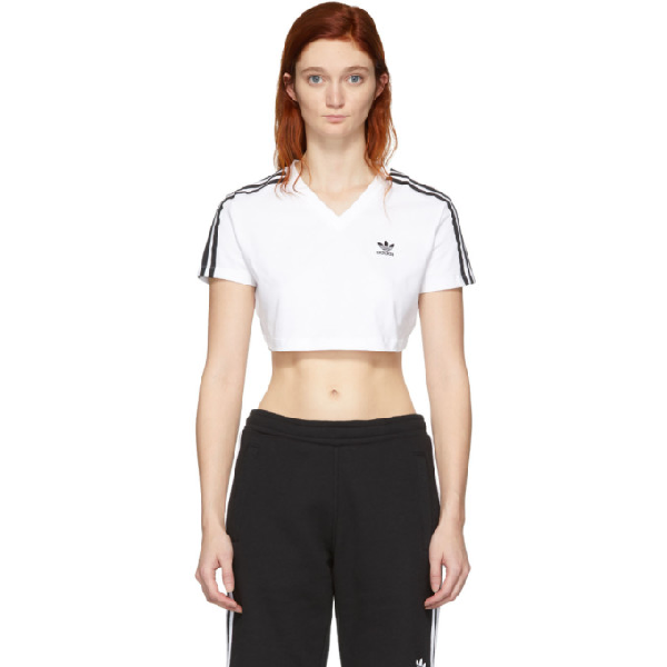 8454c102 Adidas Originals Women's Originals Loose Crop T-Shirt, White | ModeSens