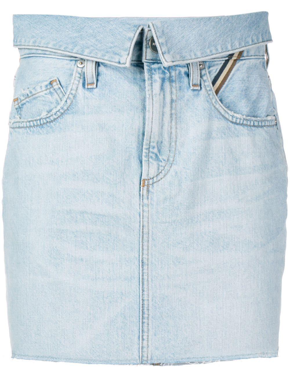 2a42bf0389c Jean Atelier Denim Mini Skirt - Blue